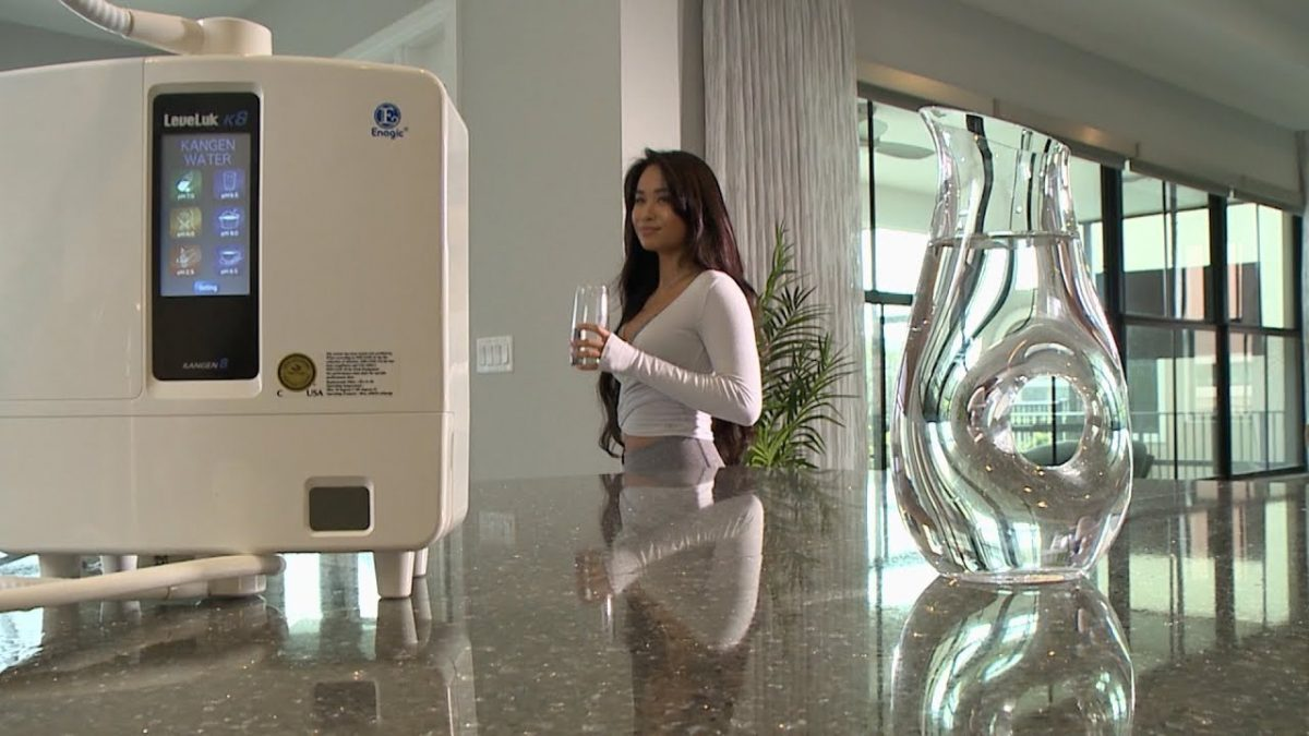 Ways an Ionized Water Filter Helps Reduce Stress